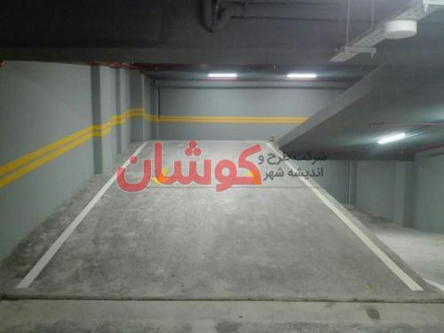 photo ۲۰۱۸ ۰۸ ۲۲ ۲۰ ۲۳ ۳۴ - خط کشی پارکینگ ۴ طبقه ساختمان اداری زعفرانیه