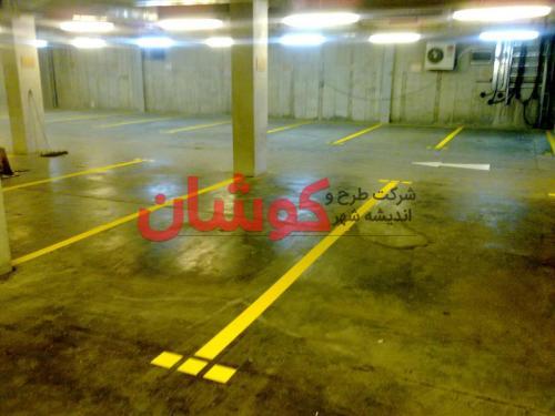 خط کشی پارکینگ اپراتور رایتل