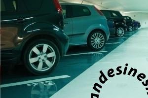 1 300x199 - نمونه کارهای خط کشی پارکینگ و شماره گذاری و نصب تجهیزات پارکینگ