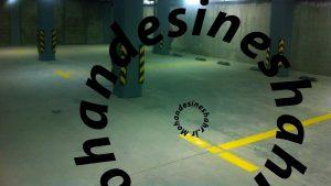 dsdsd1 300x169 - نمونه کارهای خط کشی پارکینگ و شماره گذاری و نصب تجهیزات پارکینگ