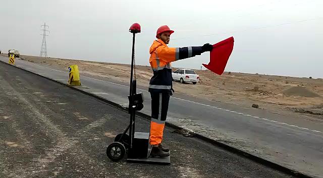 روبات های پرچم زن / راهنمایی