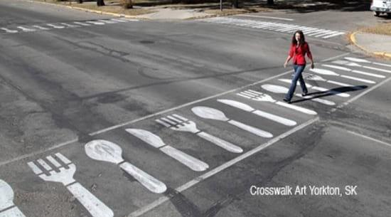 کشی 12 - خط کشی های دیدنی خیابان ها!