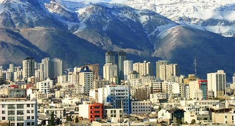 زیر ساخت های خط کشی خط سفید در شمال تهران بهسازی شد