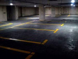 34343 e1540377650565 300x226 - نمونه کارهای خط کشی پارکینگ و شماره گذاری و نصب تجهیزات پارکینگ