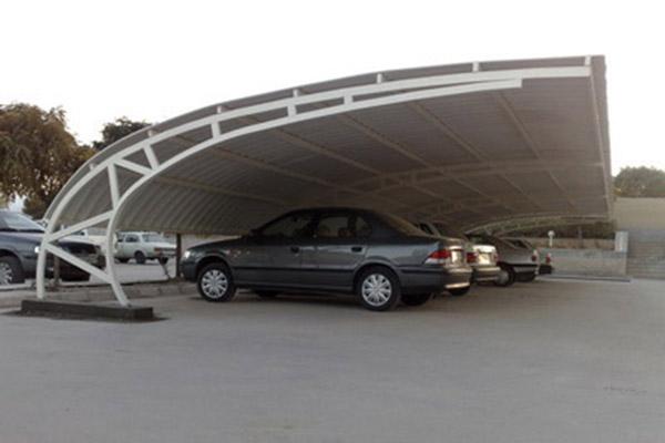 nike edited - اجرای پارکینگ مسقف/سایبان پارکینگ