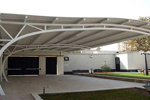 sayeban parking khodro - اجرای پارکینگ مسقف/سایبان پارکینگ