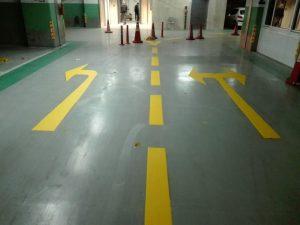 photo ۲۰۱۸ ۰۲ ۱۸ ۱۰ ۰۸ ۲۲ 1 300x225 - نمونه کارهای خط کشی پارکینگ و شماره گذاری و نصب تجهیزات پارکینگ