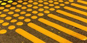 مسیر تردد نابینایان | راه نابینایان