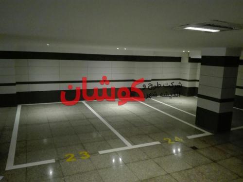 نمونه خط کشی پارکینگ تیفانی دروس با رنگ آلمانی 1500 میکرون درجه یک