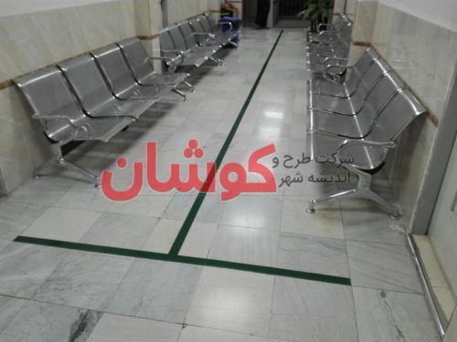 photo 2019 09 17 15 04 37 wm - اجرای خط کشی بیمارستانی با رنگ های مجزا