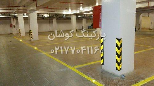 COLUMN GUARD 1 - محافظ ستون پارکینگ جنس ایرانی درجه یک + شبرنگ ۳ ساله کره ای