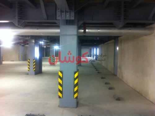 22 3 - خط کشی پارکینگ های بزرگ و کوچک بصورت تخصصی